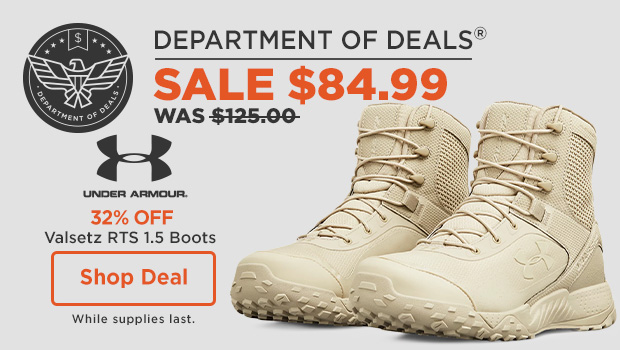 32% off Under Armour Valsetz RTS 1.5 Boots