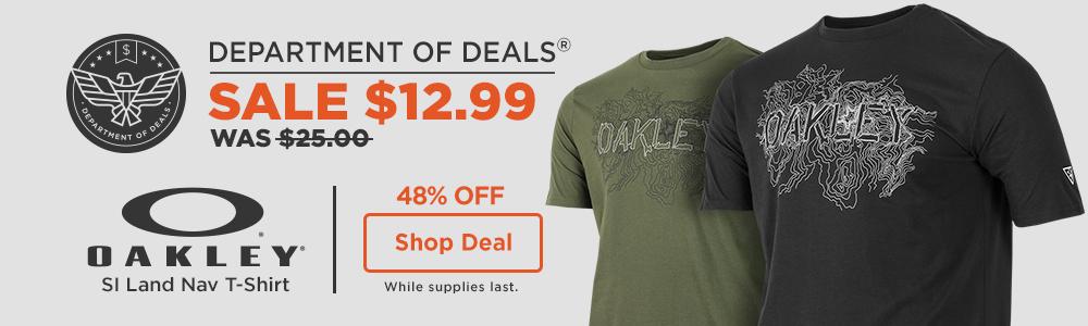 Oakley Tee Sale