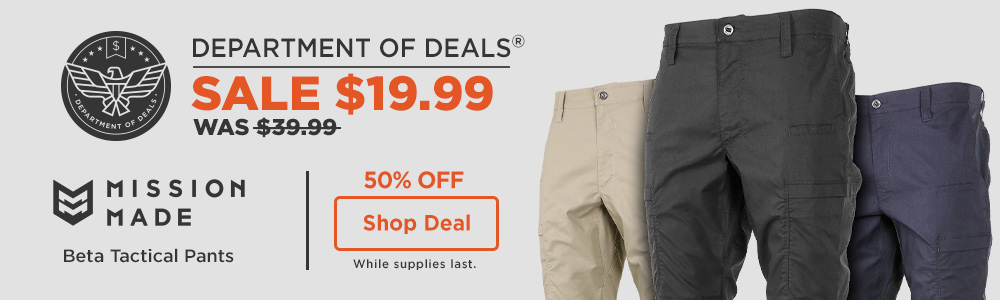 38% off Mission Made Beta Tactical Pants