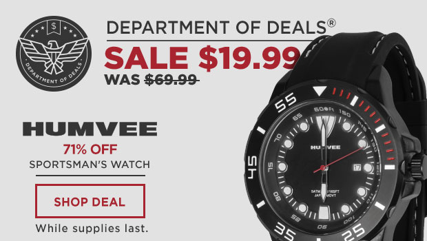 Humvee Sportsman's Watch