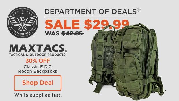 Maxtacs Recon Bag