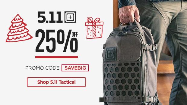 25% Off 5.11 Tactical