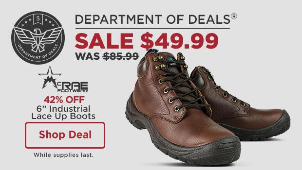 McRae Industrial Boots
