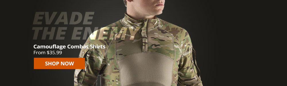 Camouflage Combat Shirts