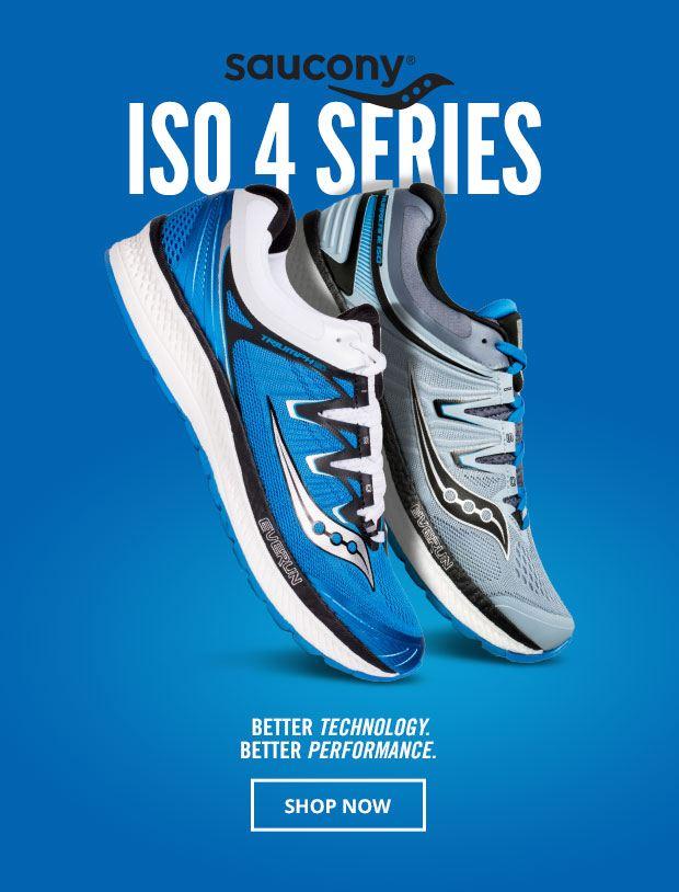 Saucony ISO 4 Series
