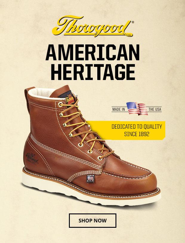 Thorogood American Heritage