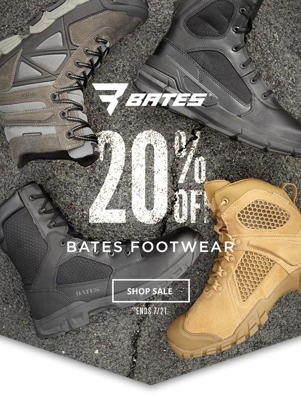 Bates 20% off