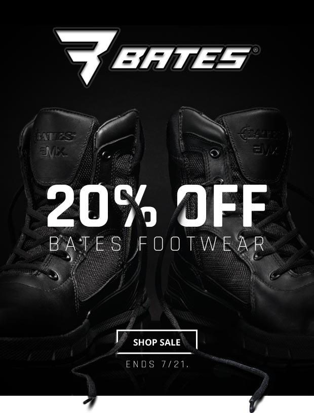 Bates 20% Off Sale