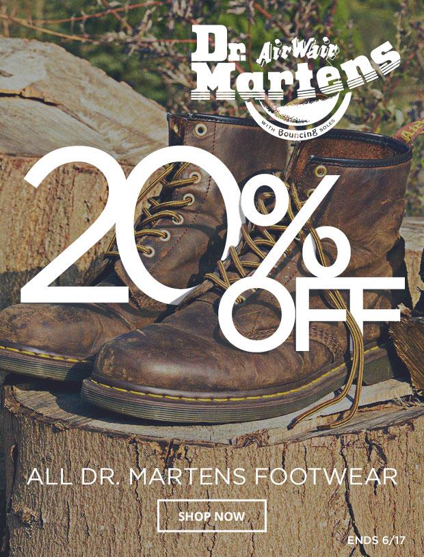 Dr Martens 20% Off