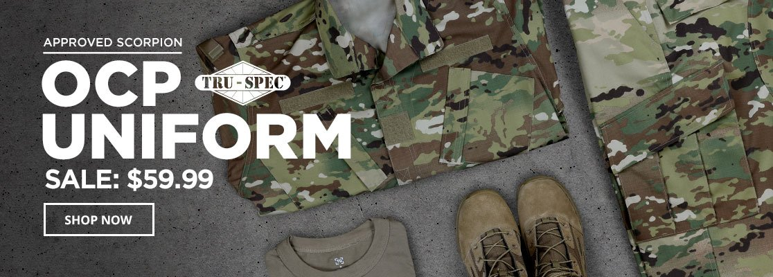 Pre-order the OCP Scorpion Uniform