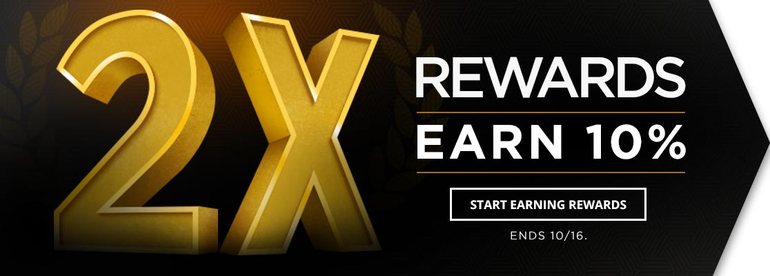 2X Rewards