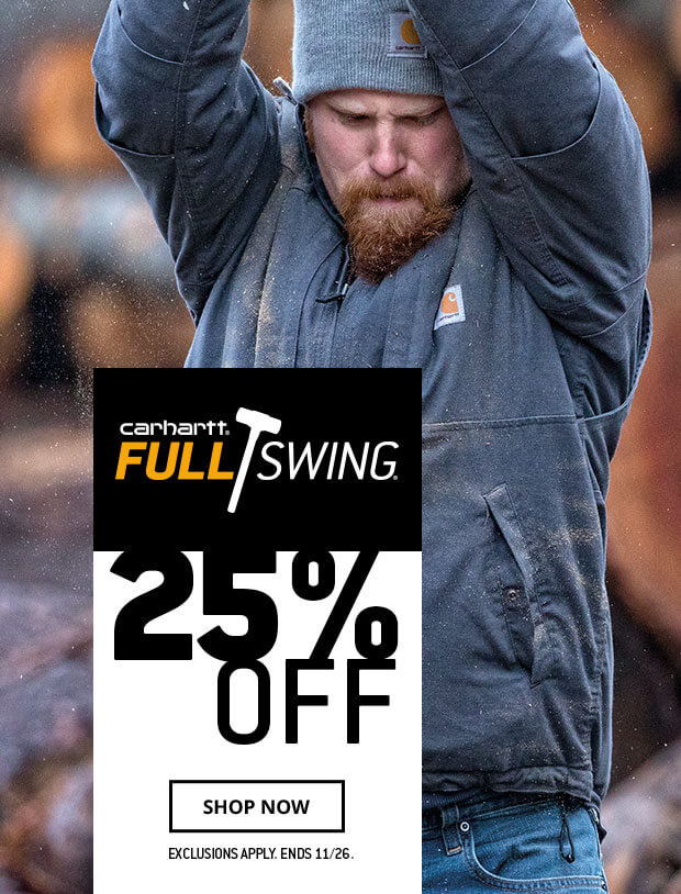 25% off Carhartt Full Swing