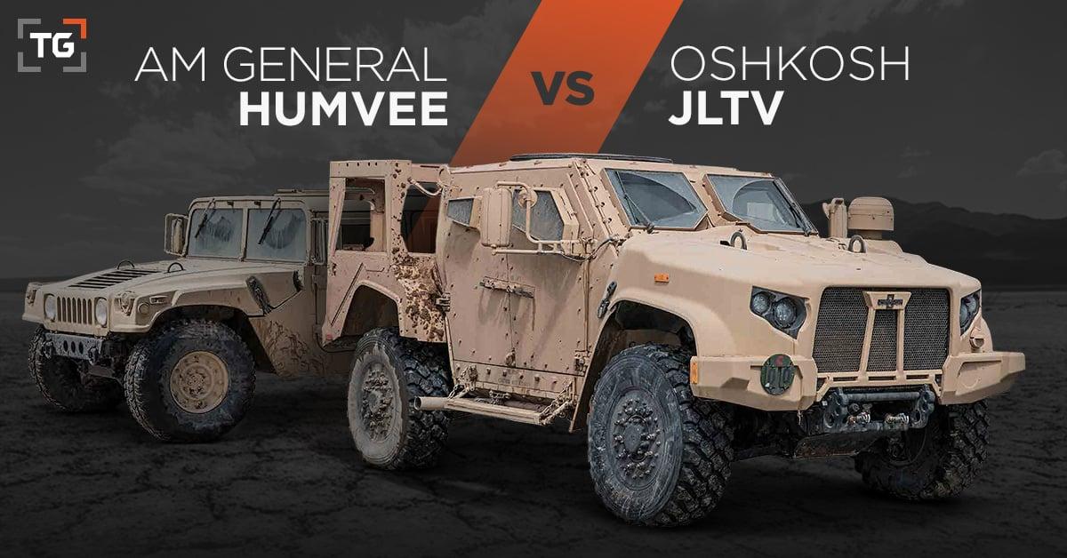 Oshkosh JLTV vs AM General Humvee