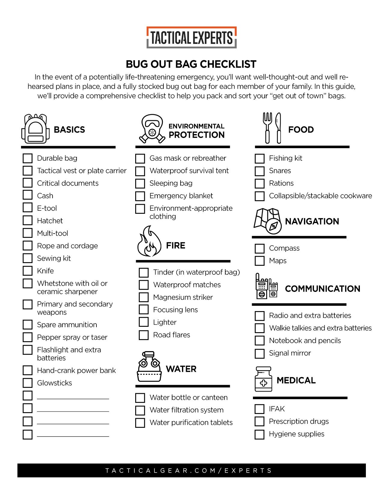 Bug Out Bag Checklist: The Essential Guide to Bugging Out