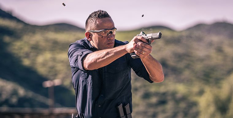 Becoming Comfortable Firing the Weapon
