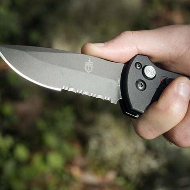 Combo Edge Knives