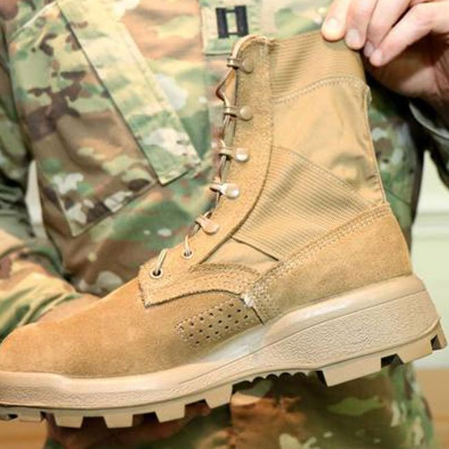 Jungle Military Boots