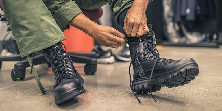 Military Boot Fit