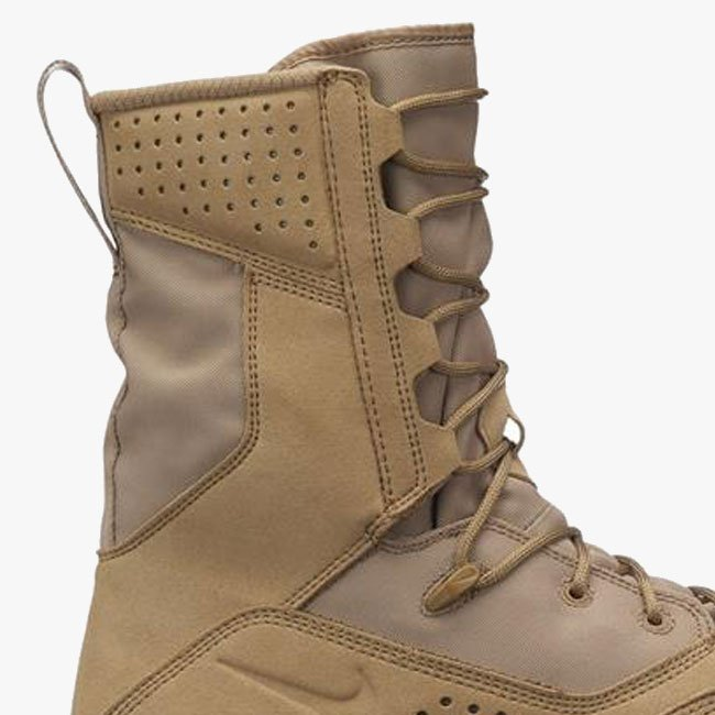 Side-zip Military Upper