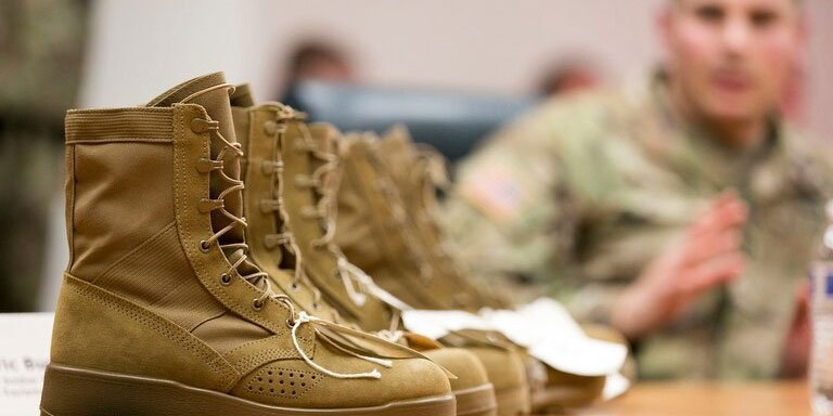 Military Boots Compliance