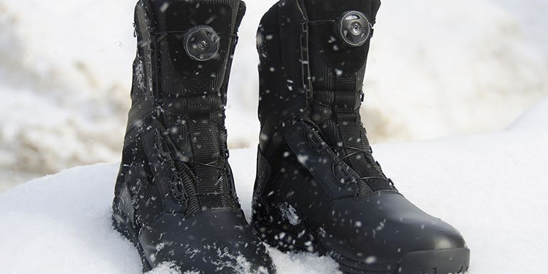 Insulated Police Boots