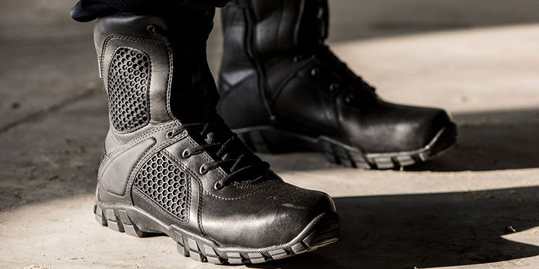 Police Footwear Features