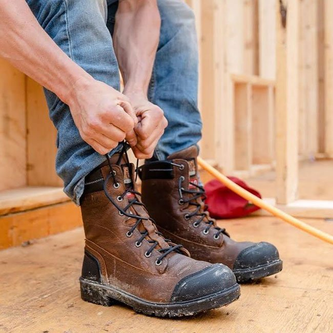 Lace Up Work Boots (logger & lineman)
