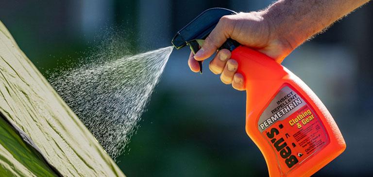 Tips for Spraying Permethrin