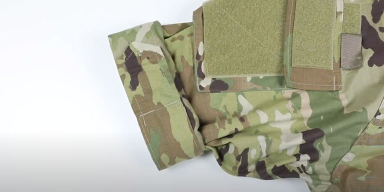 How to Roll Your Uniform Sleeves (Camo Out)- step 05