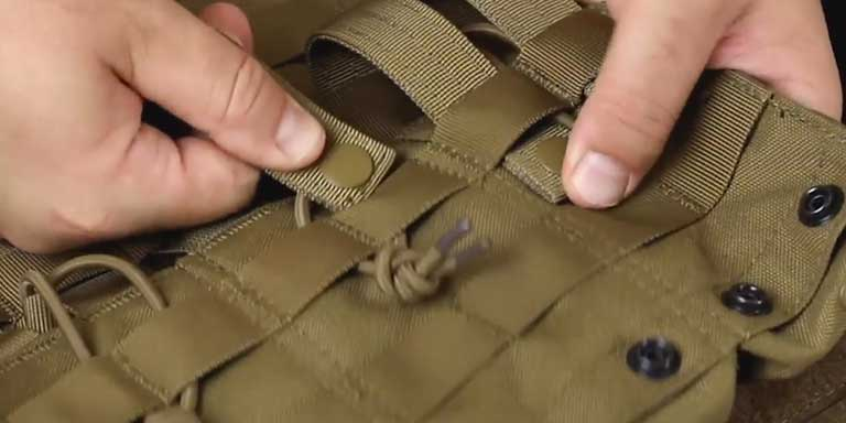 How to use MOLLE - step 03