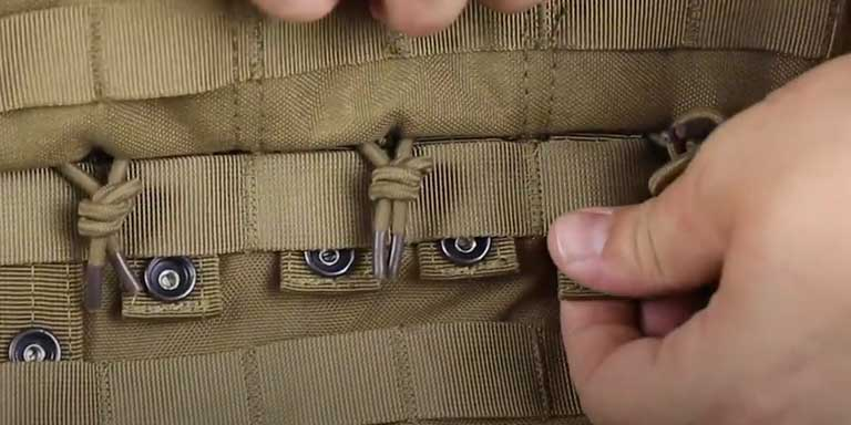 How to use MOLLE - step 04