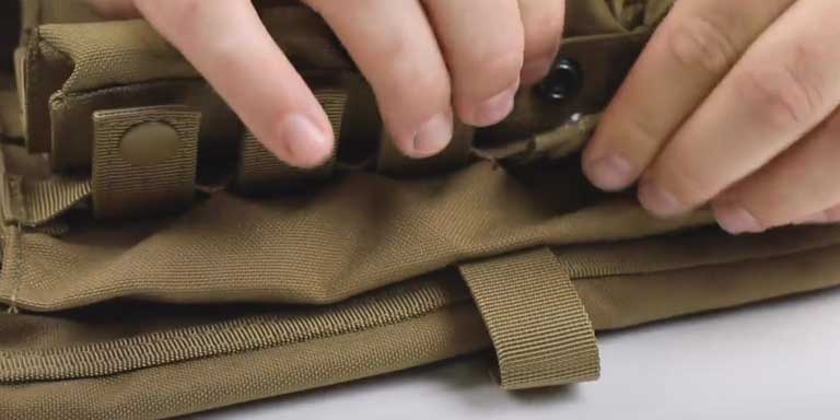 How to use MOLLE - step 05