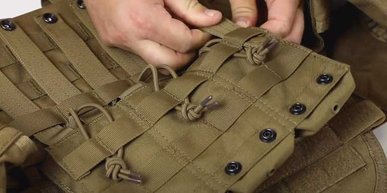 How to Use MOLLE Webbing