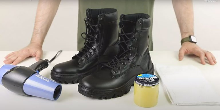 How to Waterproof Military & Tactical Boots