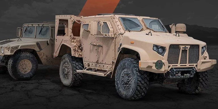 Oshkosh JLTV vs AM General Humvee