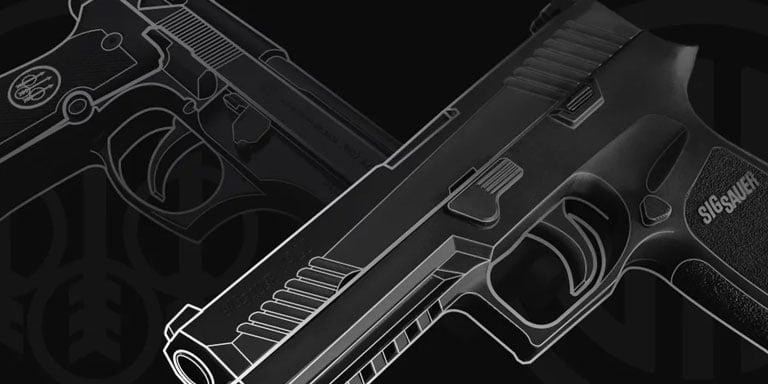 Sig Sauer P320 vs Beretta M9