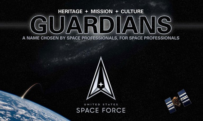Space Force Unveil's the Name of its Personnel